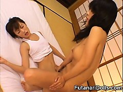 futanari and girl making love!