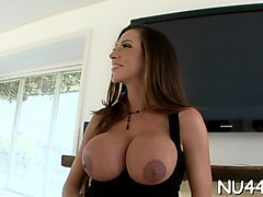 fun with hot oiled beauty clip video 1