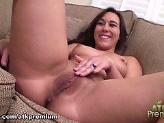 Amazing pornstar Sinn Sage in Fabulous Solo Girl, Casting adult movie