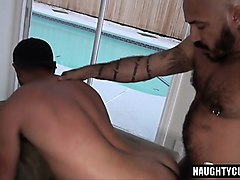 big cock son anal sex and cumshot