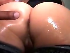 Amazing big bubble butt on big black cock part 5