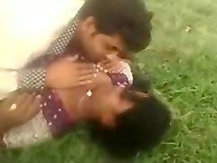 Desi Village Couple Enjoy Outdoor