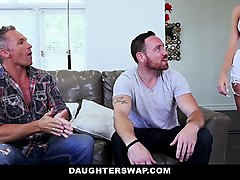 daughterswap- hot daughters hypnotized by dads