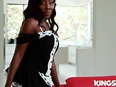 osa lovely in hot maid big ass