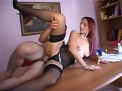 Amazing Amateur movie with Redhead, Group Sex scenes