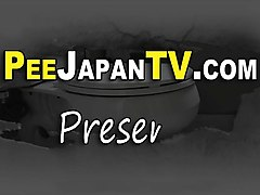 japanese babe watched pee