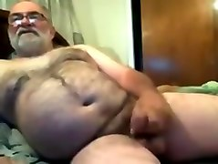 Jim anal play and cum