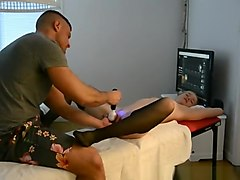 Husband Gives His Sexy Wife Massage