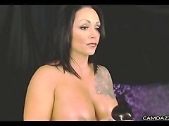 simony diamond plays with anal toys with hot babes