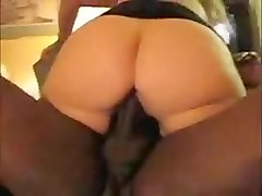Fabulous Amateur record with Creampie, Interracial scenes