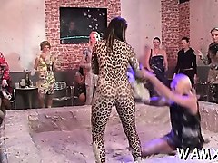 rare scenes of catfight lesbo xxx in porn adult fetish