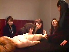 Amazing Japanese slut Maki Tomada, Chisato Shouda, Yumi Kazama in Fabulous Group Sex JAV movie