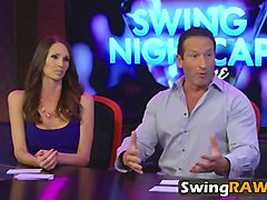 amateur swingers watch recap of reality show
