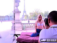 beautiful blonde jessie volt gets fucked in front of the eiffel tower