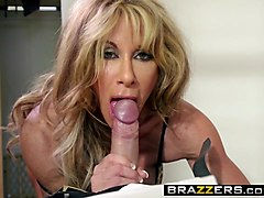 brazzers - milfs like it big - farrah dahl and keiran lee -  cold feet hot pussy