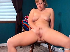 amateur busty mature milf toys with a dick
