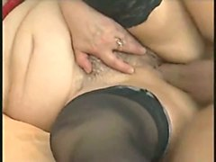 this chubby mature woman in sexy stockings wants to suck my dick and fuck