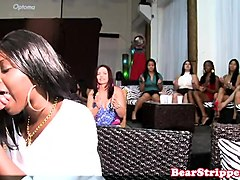 bachelorette milfs blowing dick at the party