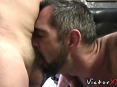 sex starved nancy boy gets his special sex drive at midnight