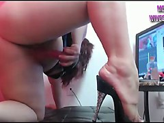 i wish that was my cock stretching out her sweet fuckhole on cam