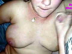love it when a woman loves to fuck on camera and this slut loves sucking dick