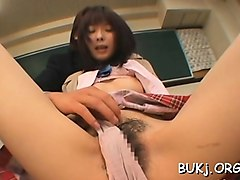japanese chicks sharing the same shlong in xxx scenes