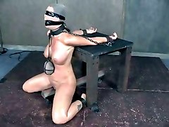 an excellent bdsm video and this hot raunchy slave is perfectly submissive
