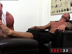 feet guys gay free xxx dev worships jacrony's son james' man