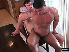 latin son anal sex and creampie