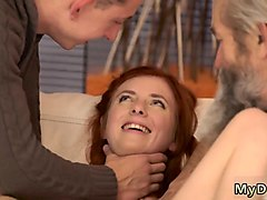 old mature kissing unexpected experience with an older gentl