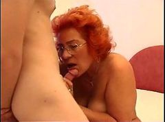Chubby Mother Has Sex With Her Son In Bed