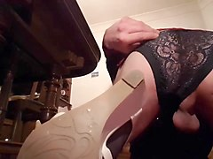 sissy slut crossdresser crave to be fucked fast &amp_ deep part 1