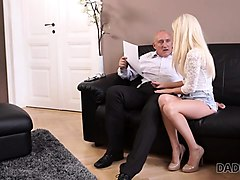 daddy4k. old businessman couldn't say no to son's gorgeous
