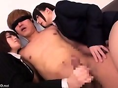cfnm japanese assisted bathing threesome