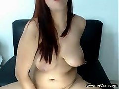 chubby bbw squirts with lovense vibrator live