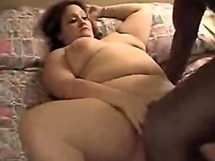 fat white milf interracial sex