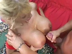 Mature With Big Tits Gets Fucked