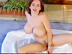 Readhead With Big Boobs Are Playing With Herself