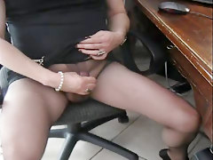 Matilde Orgasm In Pantyhose Black Ultrasheer