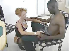 Black Cock Business For Mature Woman