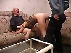 Russain Teen Threesome Old Man Fucks