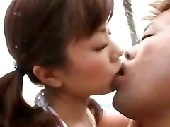 Beauty Asian Babe Creampie Fucked At The Beach