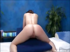 Quiet Shy Girl Gets Seduced At Her Massage