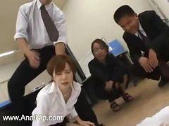 Asian Secretary From Asian With Ass Milk