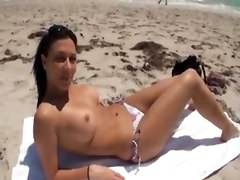 Rachel Starr At Miami Beach