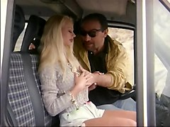 Blonde Caught By The Driver Roberto Malone In Mini Bus
