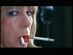 T Girl Samantha Is Made To Smoke Two