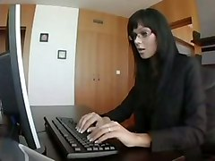 Simony Diamond Fucks A Work Colleague