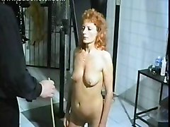 Horny Milf Slave With Her Nipples And Clit Pierced Is Spanked On Her Well Formed Ass