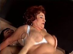 Granny Agnes Enjoys Young Cock